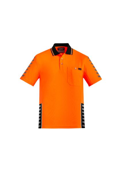 Orange/Black Front