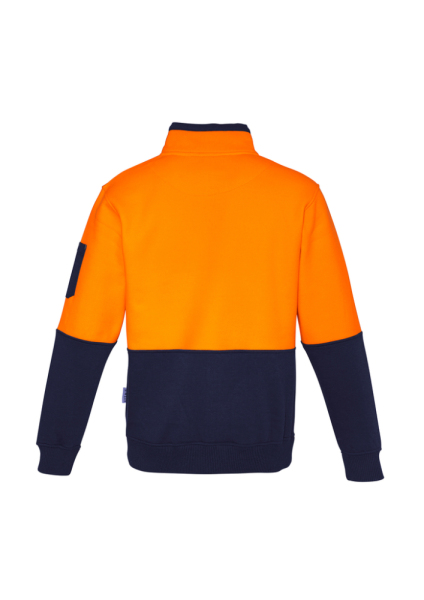 Orange Navy Back