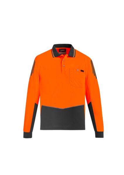 Orange/Charcoal Front