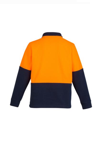 Orange Navy Back