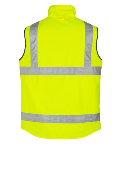 Syzmik vest Yellow back