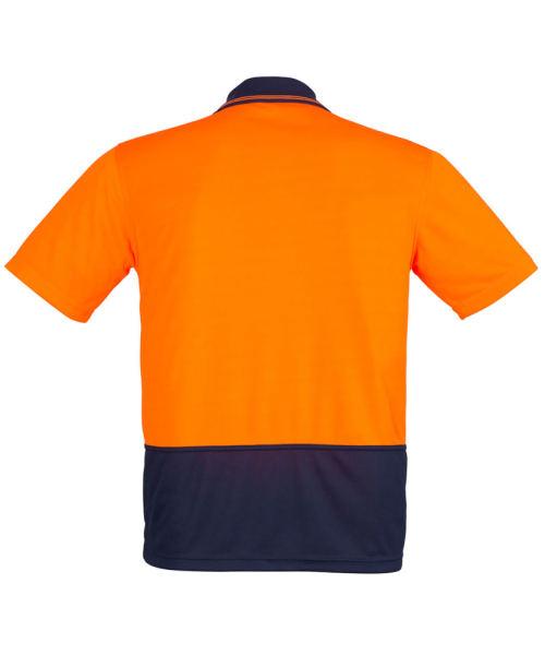 Rear View in Orange/Navy