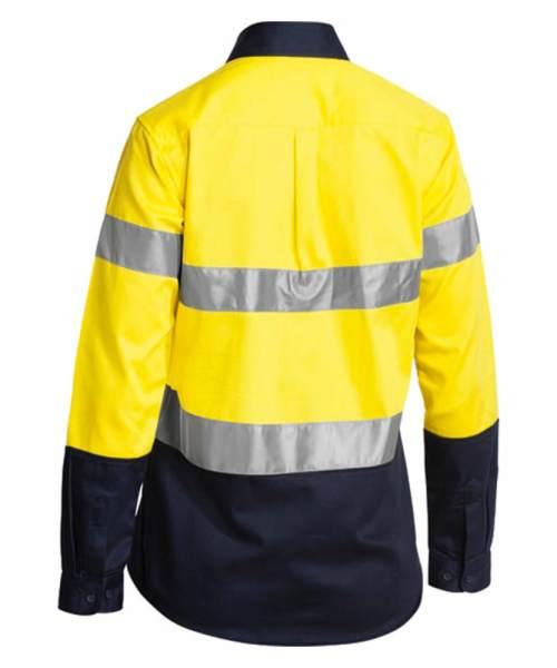 Yellow Navy Back