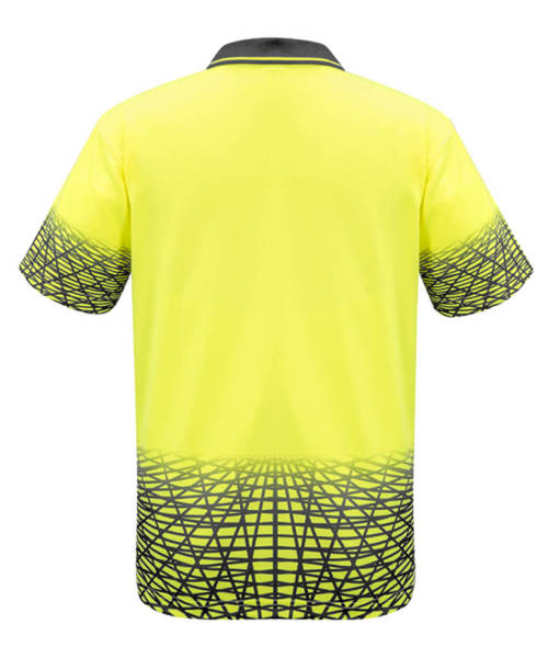 Back View in Yellow/Charcoal