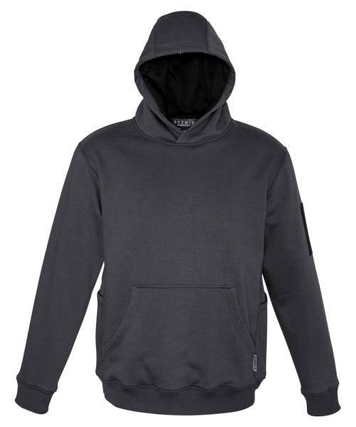 Charcoal with Hoodie Up