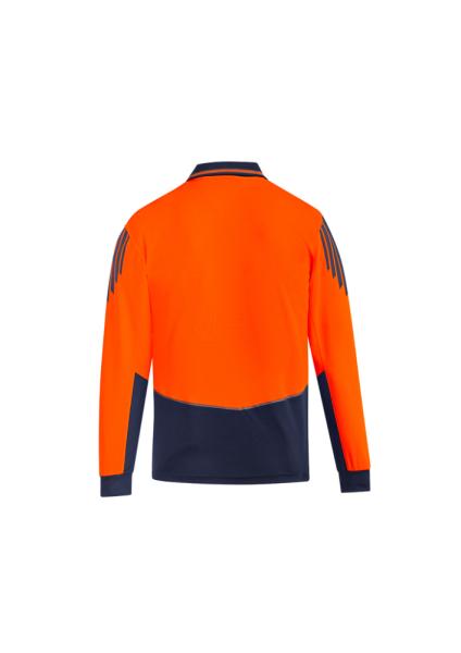 Orange/Navy Back