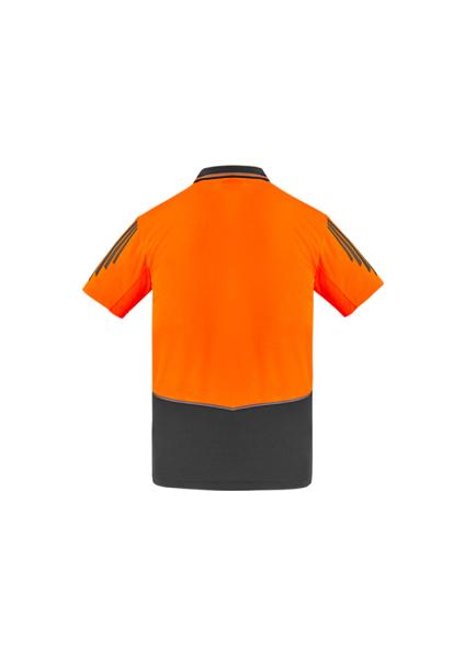 Orange/Charcoal Back