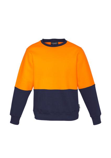 Orange Navy Front