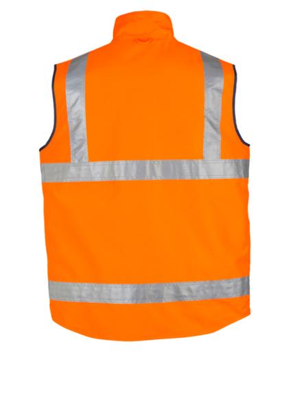 syzmik Vest Orange Back