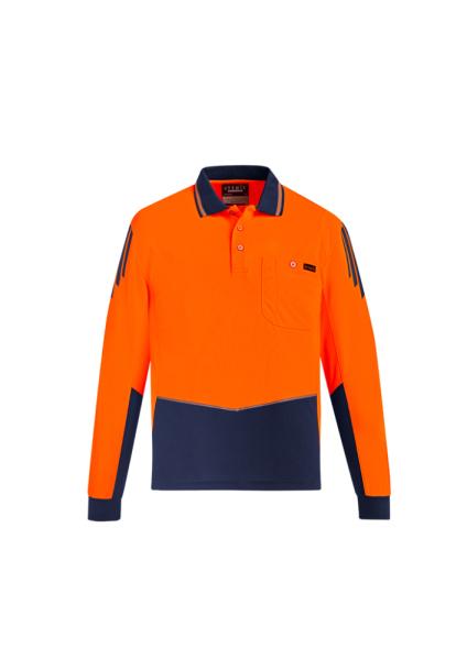 Orange/Navy Front