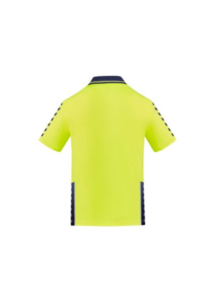 Yellow/Navy Back
