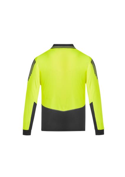 Yellow/Charcoal Back