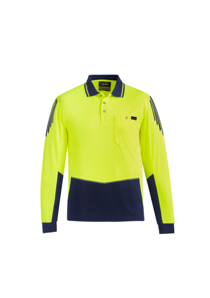 Yellow/Navy Front
