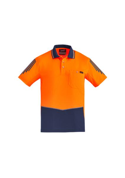 Orange/ Navy Front